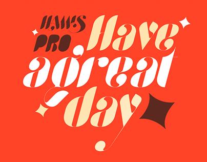 Hamis Pro Typeface