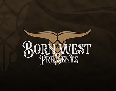 Born West Presents - Logo Phases