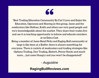 Raging Bull Trading Reviews: Part II