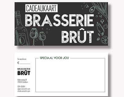 Brasserie Brût giftcard