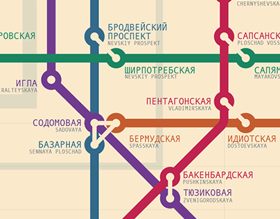 SPb subway map [alternative]
