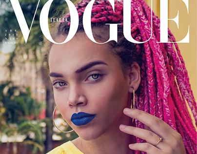 Relayout Vogue Itália®: A beleza brasileira.