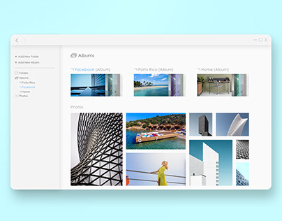 Concept for Windows Photo Gallery