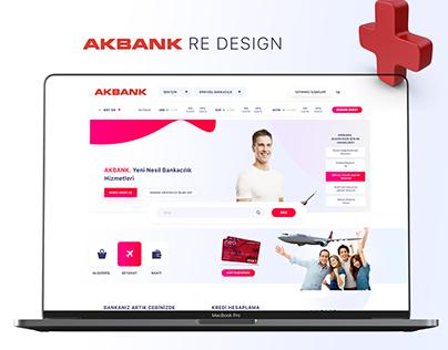 AKBANK Website RE-DESIGN
