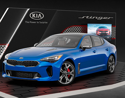 KIA Stinger Booth Design