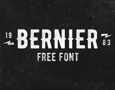 BERNIER™ // Free Typefamily