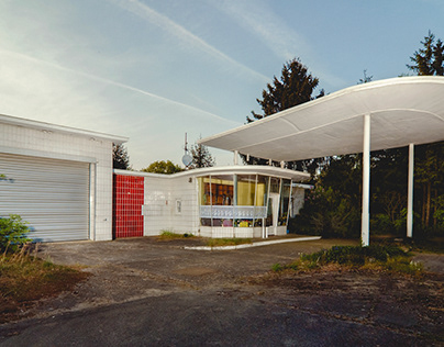 Former gas stations in Germany