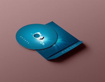 """Обложка для CD-сборника с лёгким музлом """"Летать..."""""""