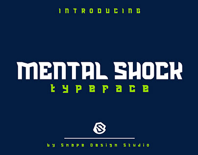 Mental Shock - Typeface