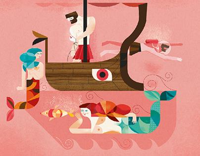 Odiseo y las sirenas