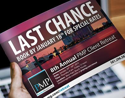 PMP Last Chance 2015 Postcard