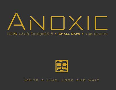 Anoxic typefaces