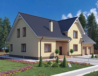 Дом из кирпича -HristeRose2
