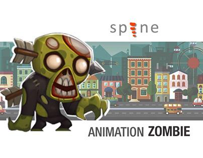 Spine Animation: Zombie