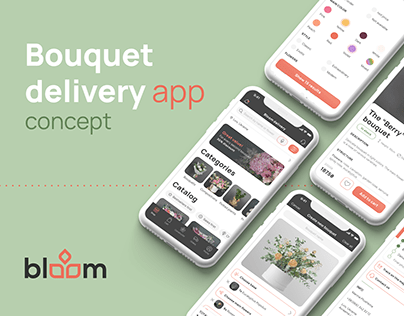 Bloom — Bouquet delivery app