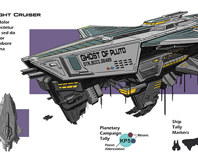 Dreadnaught Cruiser Design