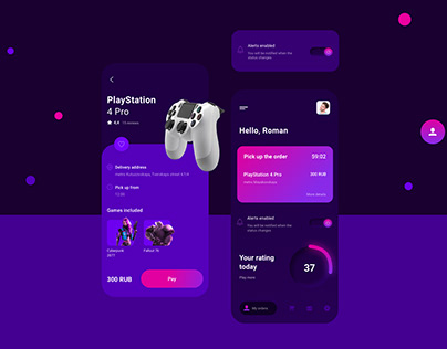 Go Play - App for rental consoles