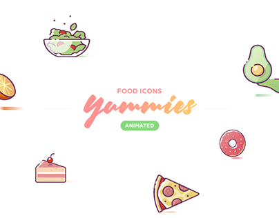 Yummies Animated Icon Set