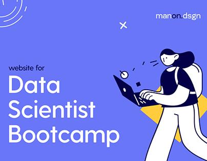 Website for DataScientist Bootcamp. SkillFactory