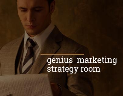 Genius Marketing Strategy Room