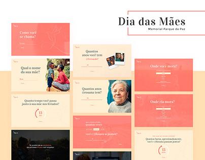 Dia das Mães - Memorial Parque da Paz