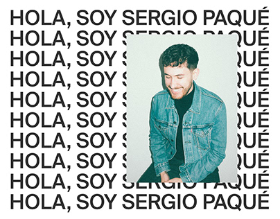 Hola, soy Sergio Paqué – Personal Brand