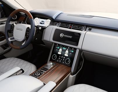 Range Rover SV Autobiography Instrument Cluster