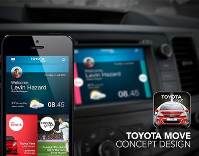 Toyota Move - App Concept