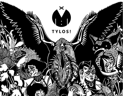 TYLOS! theater Festival advertising