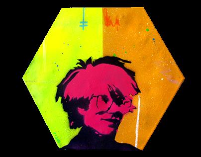 Hexagon Warhol