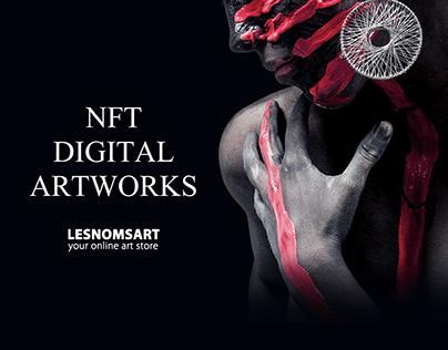 ART NFT Token - corporate site
