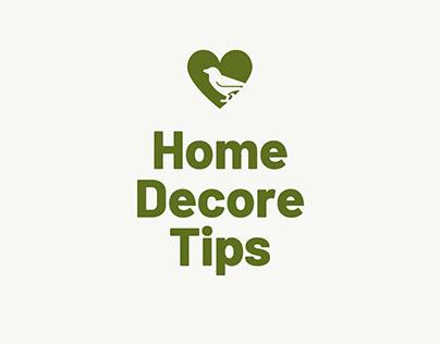Home Decor Tips