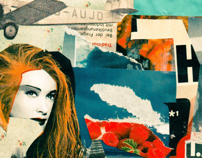 Siren // Collage & Decollage