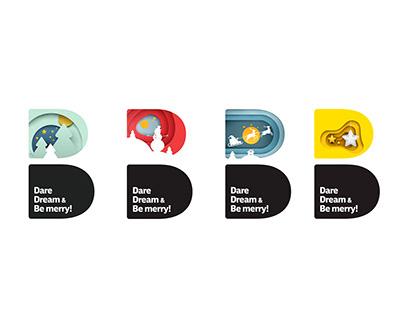 "DDB- "" Corporate Greeting Card Design """