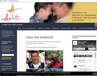 Web Design: Reloj Angelote