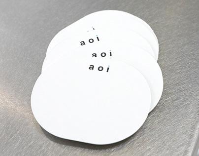 aoi studio   Namecard Design