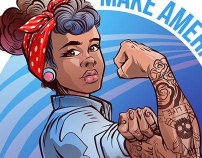 Pin Up, MALA - Make America Love Again