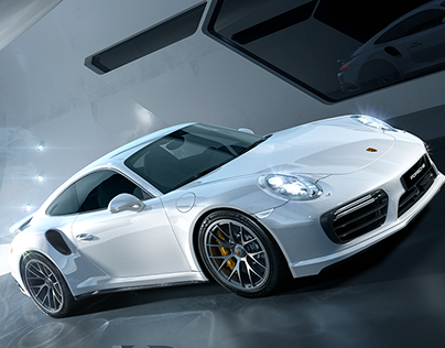 Porsche 911 Turbo S | Full CGI