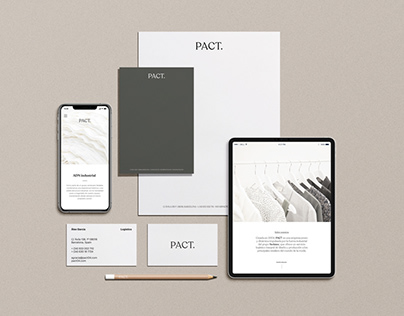 Pact. We've been working on Pact's new rebranding.
