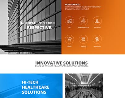 Website design & Development - Multipath Inspection UK