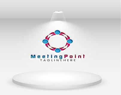 Meeting logo design