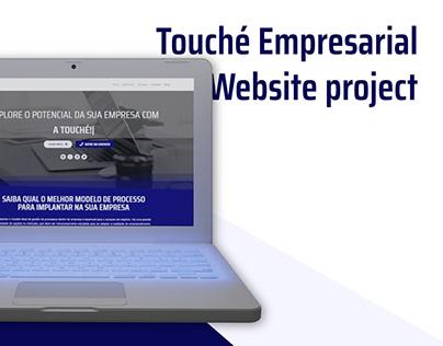Touché Empresarial - UI Design