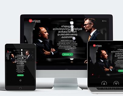 Website Designing Project