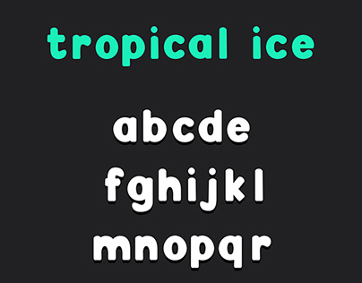 Tropical Ice Free Font