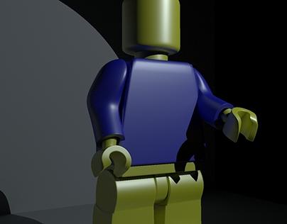 Lego 3d model