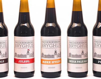 Frederiksberg Bryghus - Brand & Label Design
