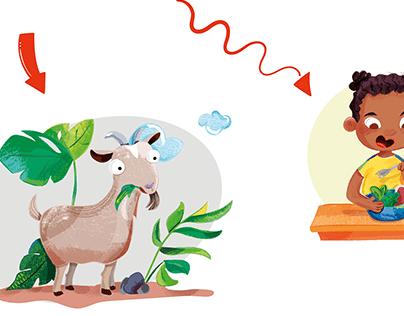 Volunteering illustrations