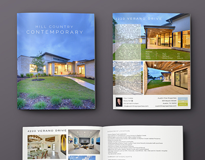 Austin Fine Properties: Real Estate Print and Email