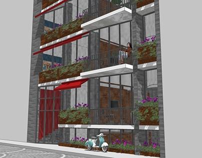 Urban Renewal Residential Infill Typology