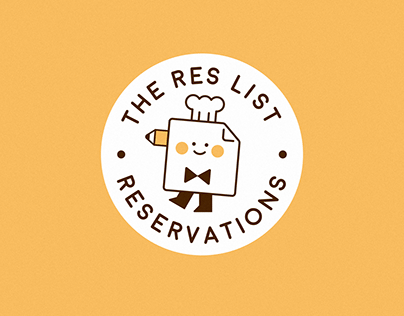 The Res List logo design